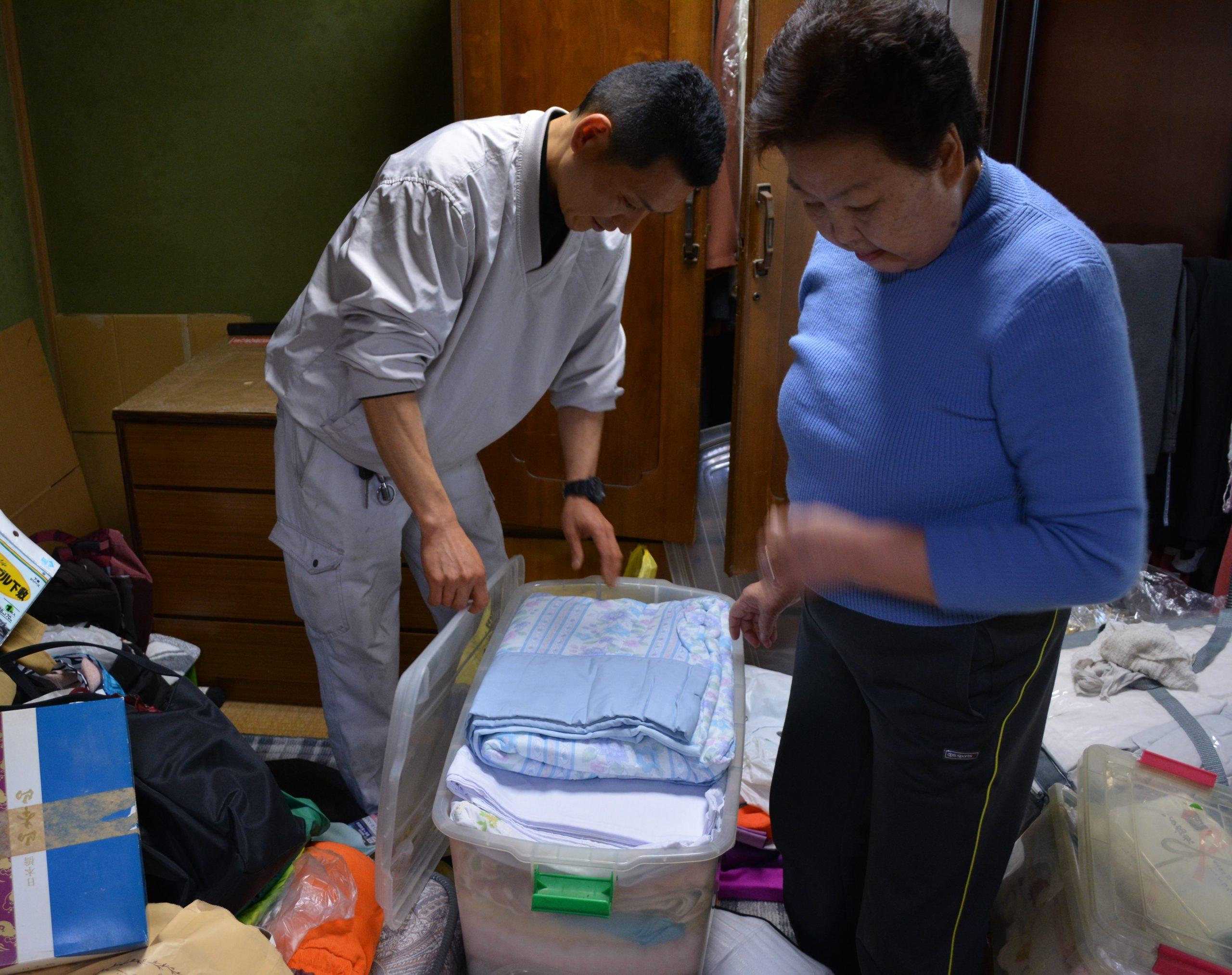 エモーション遺品整理・特殊清掃・ゴミ屋敷片付け・生前整理対応前